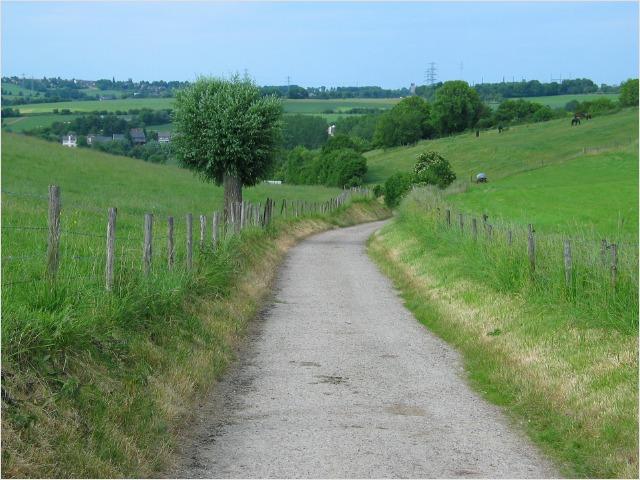 Landweg tussen de Keutenberg en de Sousberg